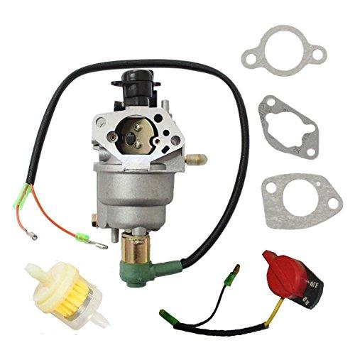 Carburetor Carb for Honeywell HW5500 HW5000E HW6200 100924A 100925A 6036 6037 6151 5500 6875W 337cc 389cc Generator stop switch