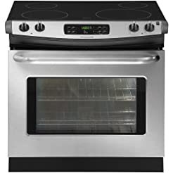 30 In. Drop-in Electric Range - Stainles...