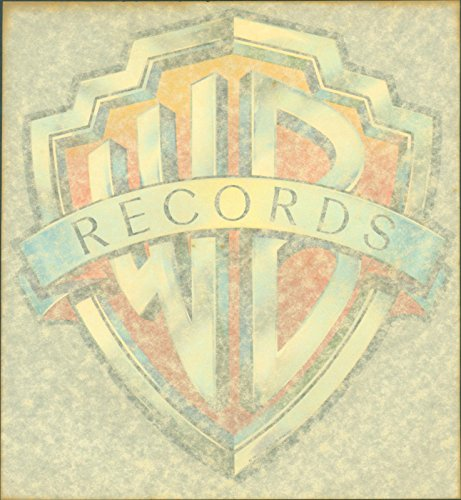 NOS Vintage Iron On Warner Brothers Records 1970