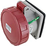 430R7W Pin & Sleeve Device Ip67 Female Receptacle 30A 3Phase 480Vac 3P 4W Watertight