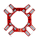 SHIJING 4pcs/lot 4inch Multifunction Corner clamp Right Angle 90 Degree Right Angle Clamps for Woodworking Clip Picture Frame