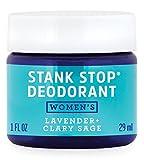 FATCO Women's Stank Stop Deodorant, Tallow, All Natural, Paleo, Lavender & Clary Sage Jar, 1 oz