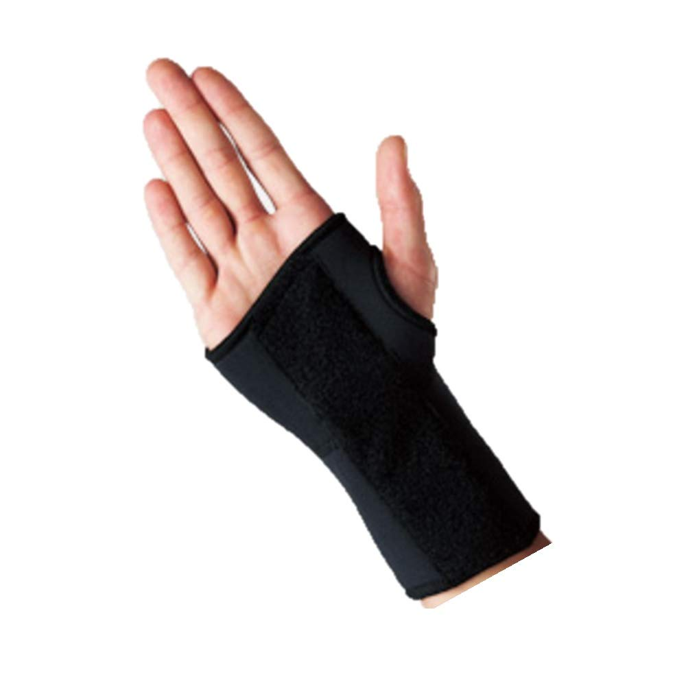 PIL LP Wrist Splint - Support for Weak or Stiff Wrist (Unisex; Black)