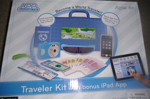 App Gadgets BlueTraveler Kit with Bonus iPad App by Digi