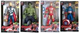 RIANZ 4 in 1 Avengers Age of Ultron Super Hero Toy Action Figures