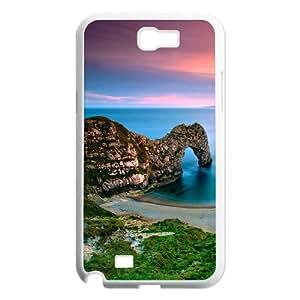Samsung Galaxy Note 2 N7100 Scenery Phone Back Case Art Print Design Hard Shell Protection LK097466