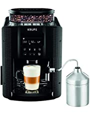 Krups Essential Espresso EA8160 Volautomatische koffiemachine met LCD display - Auto Cappuccino XS6000 set