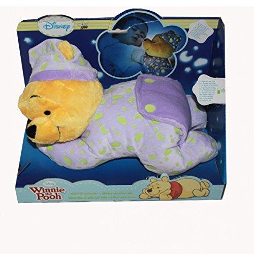 Simba 5871568 Disney Winnie Pooh Kuscheltier Gute Nacht Bär 30cm leuchtet im Dunkeln Simba Toys
