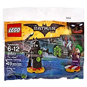 LEGO 30523 Batman Movie The Joker Battle Training polybag MINI set - 51RLbBZD0jL - LEGO 30523 Batman Movie The Joker Battle Training polybag Mini Set