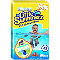 Huggies Little Swimmers Swim Nappies Size 2-3 3-8kg