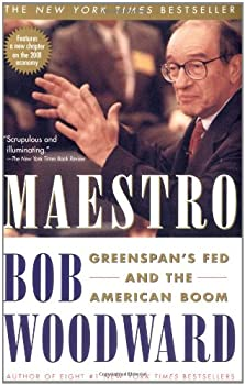 Maestro : Greenspan's Fed and the American Boom 0743204123 Book Cover