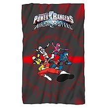 POWER RANGERS Ninja Team 36X58 Fleece Blanket