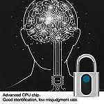 Tosuny-Lucchetto-per-Impronte-digitali-IP65-Impermeabile-con-Impronta-Digitale-Keyless-Smart-Lock-Lucchetto-Keyless-Lock-Door-Door-per-Palestra-Porta-Bagagli-Valigia-Zaino-Bici-Ufficio