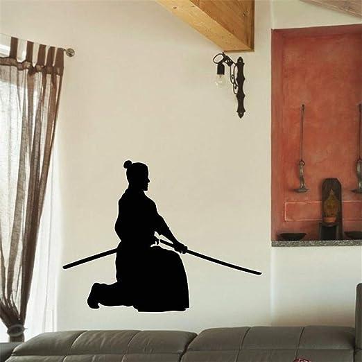 etiqueta de la pared Kendo Sticker Samurai Calcomanía Japan ...