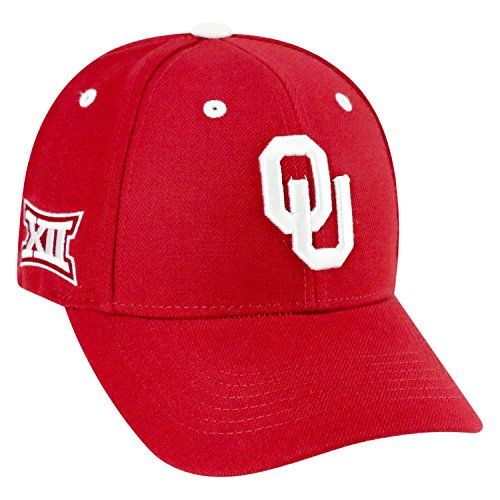 Top of the World NCAA-Triple Conference-Adjustable Hat Cap-Oklahoma Sooners