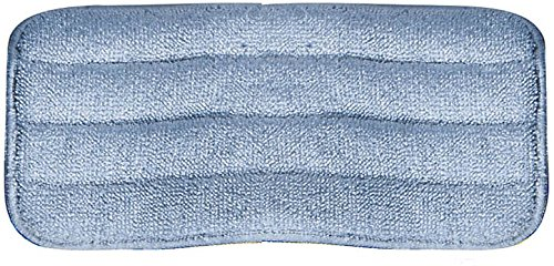 Carlisle 363321814 Commercial Microfiber Reusable Wet Or Dry Mop Pad, 18'', Blue (Pack of 12) by Carlisle (Image #7)