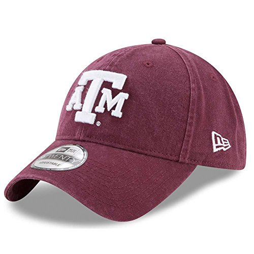 New Era Texas A&M Aggies Campus Classic Adjustable Hat - Team Color, One ()