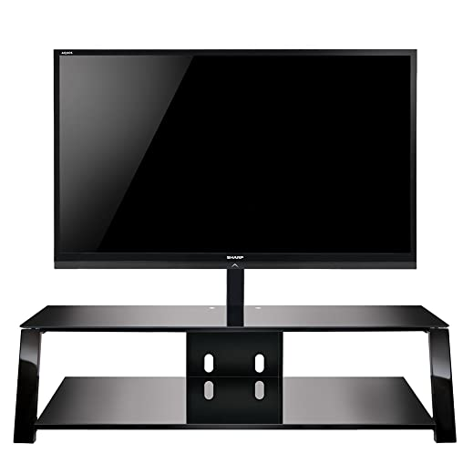 Bell O TP4463 Triple Play 63 TV Stand for TVs up to 70 , Black