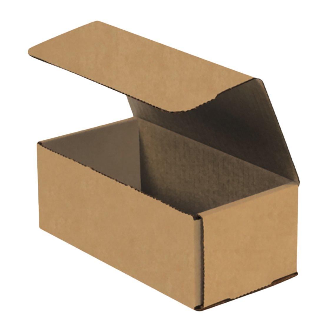 7 1//8 x 5 x 3 RetailSource B070503KM50 Kraft Corrugated Mailers Pack of 50