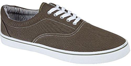 Favoriser Sneaker Herren Chaussures Khaki