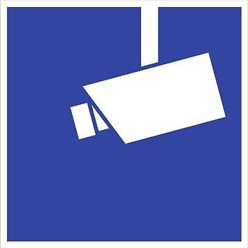 Aufkleber Video Infozeichen Hinterglasaufkleber Innenklebend