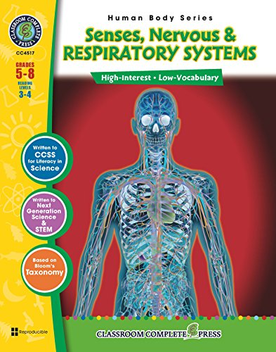 Download Senses, Nervous & Respiratory Systems Gr. 5-8 Pdf