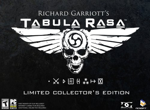 Richard Garriott's Tabula Rasa Collectors Edition for sale  Delivered anywhere in USA
