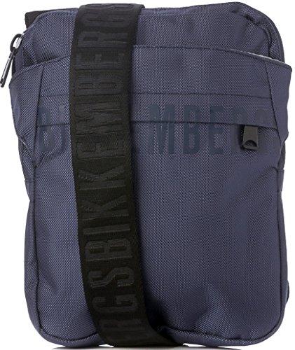 Bikkembergs - Bolso al hombro para hombre Azul azul