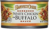 Harvest Creek shredded white chicken in buffalo sauce, 12.5-oz., cans, 4-pack
