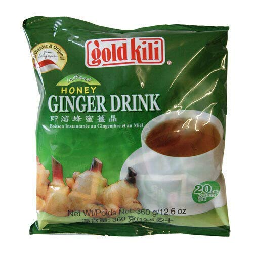 Ginger Drink -Gold Kili 120 Sachets Packed in 6 Bags by Gold Kili