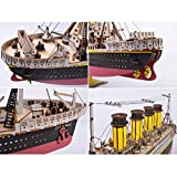 Large Size Titanic Model 3D Wooden Puzzles Cruise