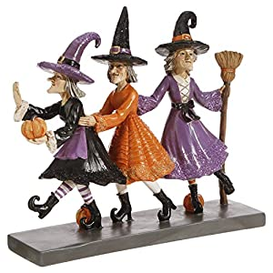 raz imports halloween decor dancing witches figurine
