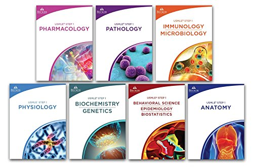 Becker Professional Education, USMLE Step 1 Review Books