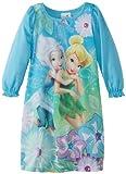 Disney Fairies Little Girls'  Tinkerbell Pixie Party Gown, Aqua, 3T