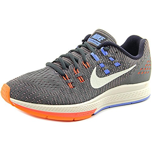 Nike , Damen Sneaker schwarz Black/Hyper Orange