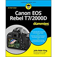 Canon EOS Rebel T7/2000D For Dummies (For Dummies (Computer/Tech)) book cover