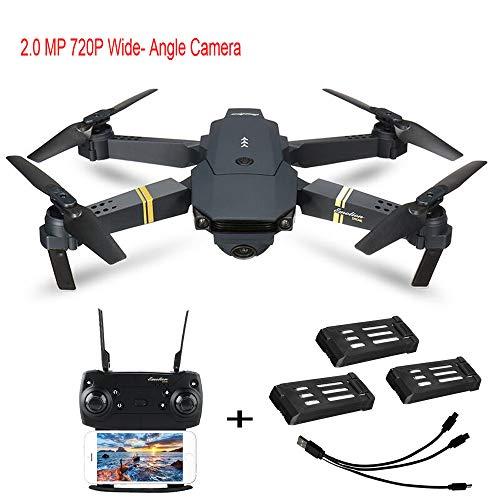 720P Camera WiFi FPV Foldable Selfie Drone RC Quadcopter RTF ()