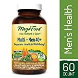 Cheap MegaFood – Multi for Men 40+, Multivitamin Support for Energy Production, Heart Health, and Memory, Mood, and Bones with Vitamin D3 and Methylated Folate, Vegetarian, Gluten-Free, Non-GMO, 60 Tablets