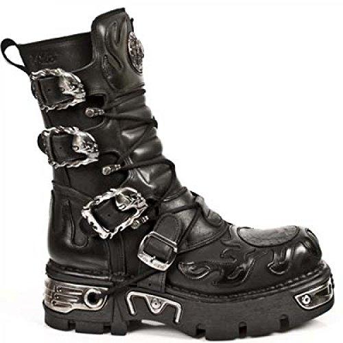 New Rock Boots M.743-c1 Urban Hardrock Punk Unisex Stiefel Schwarz