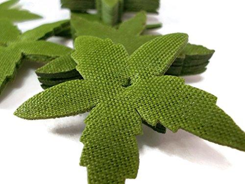 Sepals Petal Size 1.5 Inch Fabric Green Torus Sepal Calyx Fruit Stem