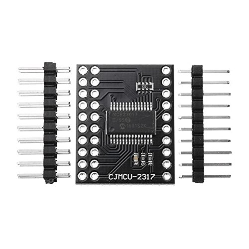 SODIAL MCP23017 16-bit I/O Expander with I2C IIC Serial Interface Module 128381