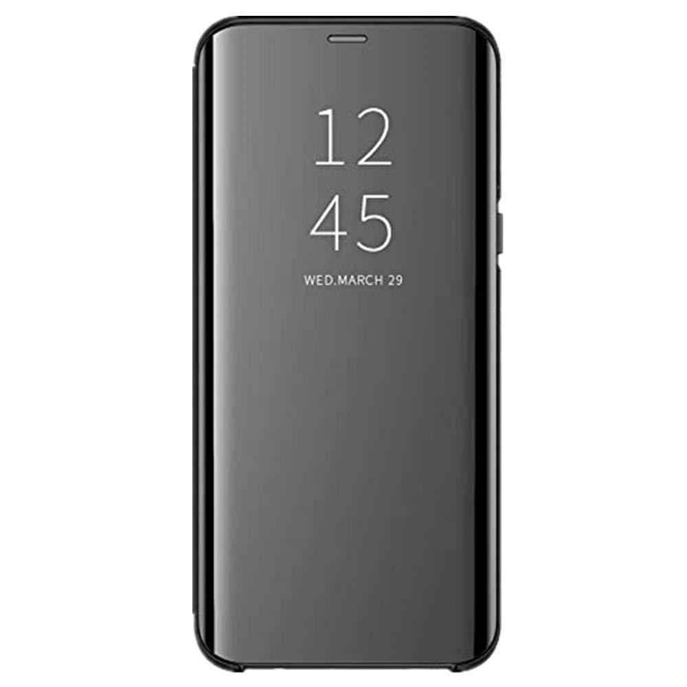 Amazon com: Huawei Y7 2018/Honor 7C Case, Mirror Flip Case