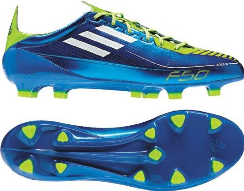 Adidas F50 Adizero Trx Fg (syn) Nous Mens 5 M (anodizedblue / White / Slime)