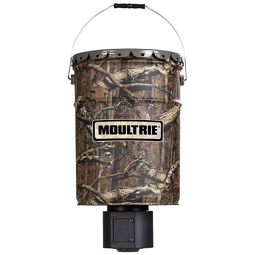 Moultrie 6.5-Gallon Quiet Hanging Deer Feeder