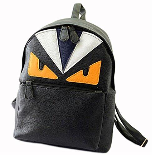 BEIER® New College Owl Backpack Student Package 2015-Summer7 (black)