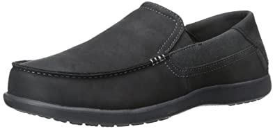a091a1ae5 crocs Men s Santa Cruz 2 Luxe Leather M Slip-On Loafer