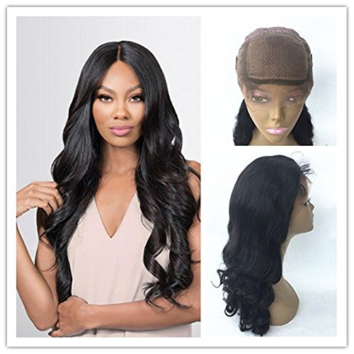JYL Hair Loose Wave Silk Base 360 Lace Wig Brazilian Virgin Human Hair with 4x4 Silk Top Natural Hairline Glueless Wig 150% Density with Baby Hair for Black Women