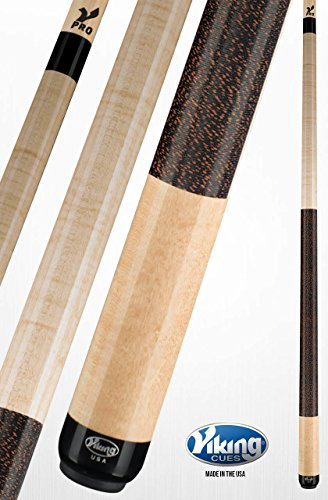 - Viking A247 Pool Cue Stick Khaki Stain Curly Maple Quick Release Joint V Pro Shaft 18, 18.5, 19, 19.5, 20, 20.5, 21 oz. (18) (20)