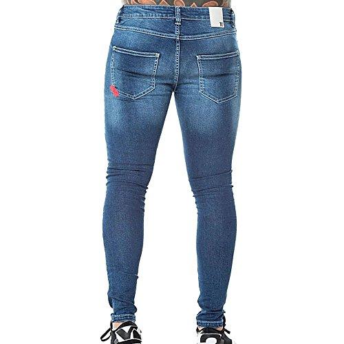 DegreesBlue Damen Mid Skinny 11 Jeans Blue kw0O8nXP