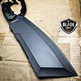 16'' SURVIVAL HUNTING Bowie Military FULL TANG MACHETE Fixed Blade Knife SWORD